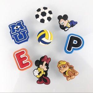 CROCS JIBBITZ Baby Mickey & Minnie & More Set of 8